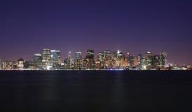 Orizzonte del Lower Manhattan Immagini Stock Libere da Diritti
