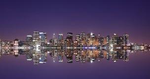 Orizzonte del Lower Manhattan Immagine Stock