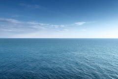 Orizzonte del mare Fotografia Stock