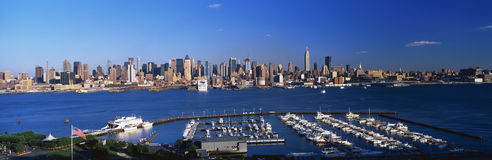 Orizzonte del Midtown Manhattan, New York Immagine Stock