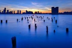 Orizzonte del New Jersey Immagini Stock Libere da Diritti