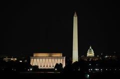 Orizzonte del Washington DC Fotografia Stock Libera da Diritti