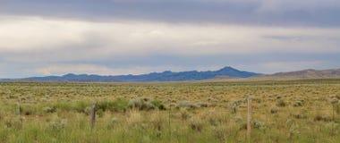 Orizzonte del Wyoming Immagini Stock