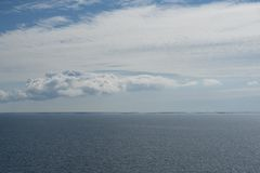 Orizzonte dell'arcipelago Fotografia Stock Libera da Diritti
