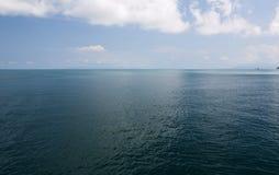 Orizzonte dell'oceano Fotografia Stock