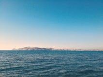 Orizzonte dell'oceano Fotografie Stock
