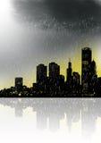 Orizzonte della città Fotografie Stock