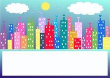 Orizzonte della città Immagine Stock Libera da Diritti