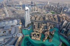 Orizzonte della città del Dubai Immagine Stock Libera da Diritti