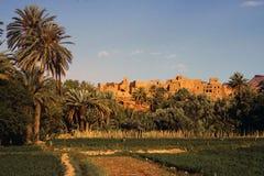 Orizzonte della città del Marocco Fotografia Stock Libera da Diritti
