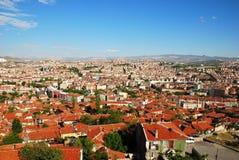 Orizzonte della città di Ankara Fotografia Stock