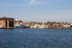 Orizzonte della città di Annapolis Immagine Stock