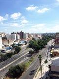 Orizzonte della città di Campinas immagine stock