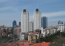 Orizzonte della città di Costantinopoli Fotografia Stock Libera da Diritti