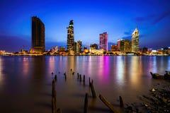 Orizzonte della città di Ho Chi Minh fotografie stock