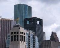 Orizzonte della città di Houston Immagine Stock Libera da Diritti