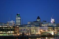 Orizzonte della città di Londra Fotografia Stock