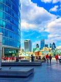 Orizzonte della città di Londra e del Tamigi Fotografie Stock