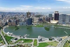 Orizzonte della città di Macao fotografia stock libera da diritti