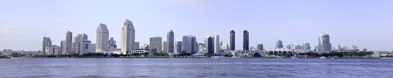 Orizzonte della città di San Diego Fotografie Stock Libere da Diritti