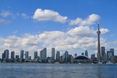 Orizzonte della città di Toronto Fotografia Stock