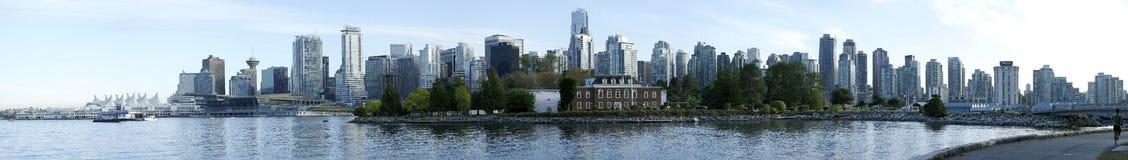 Orizzonte della città di Vancouver Fotografie Stock Libere da Diritti