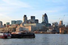 Orizzonte della città - Londra - il Regno Unito immagine stock libera da diritti