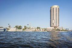 Orizzonte della città di Il Cairo Fotografia Stock Libera da Diritti
