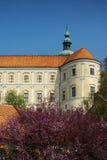 Orizzonte della costruzione del castello Fotografia Stock Libera da Diritti