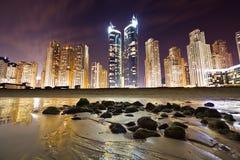 Orizzonte della Doubai Fotografie Stock