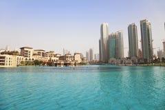 Orizzonte della Doubai, UAE Immagini Stock