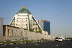 Orizzonte della Doubai, UAE Immagine Stock Libera da Diritti