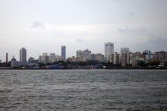 Orizzonte della megalopoli Mumbai fotografie stock