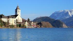 Orizzonte della st Wolfgang, Austria archivi video