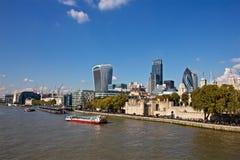 Orizzonte della torre di Londra Fotografie Stock Libere da Diritti