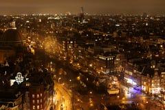 Orizzonte di Amsterdam Immagine Stock