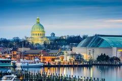 Orizzonte di Annapolis Fotografia Stock
