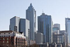 Orizzonte di Atlanta Fotografia Stock
