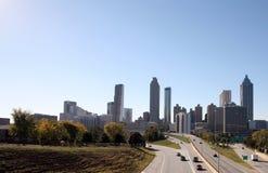 Orizzonte di Atlanta Immagini Stock Libere da Diritti
