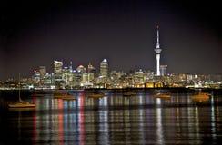 Orizzonte di Auckland fotografia stock