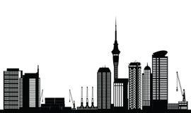 Orizzonte di Auckland Immagine Stock