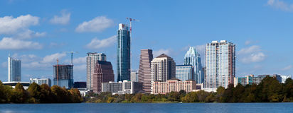 Orizzonte di Austin, il Texas Fotografie Stock