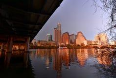 Orizzonte di Austin il Texas immagini stock libere da diritti