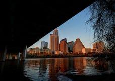 Orizzonte di Austin il Texas immagine stock libera da diritti