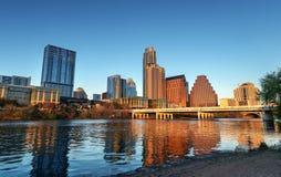 Orizzonte di Austin il Texas fotografia stock libera da diritti
