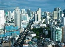 Orizzonte di Bangkok Fotografia Stock