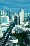 Orizzonte di Bangkok Fotografie Stock Libere da Diritti