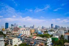 Orizzonte di Bangkok Fotografie Stock