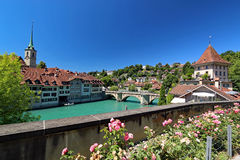 Orizzonte di Berna Immagine Stock