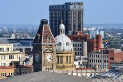 Orizzonte di Birmingham Fotografie Stock